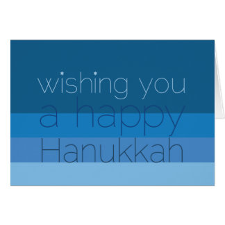 Hanukkah Wishes Card
