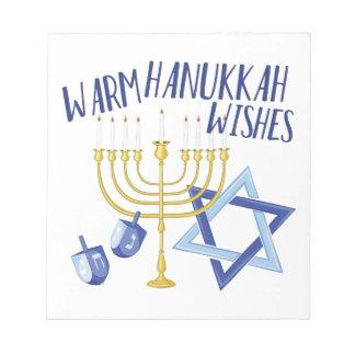Hanukkah Wishes Notepads