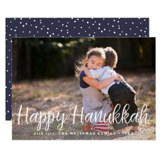 Hanukkah Wishes | Photo Card