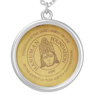 Hanuman Foundation Silver Plated Necklace