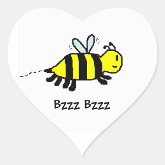 HAP BEE Birthday envelope seal Heart Sticker