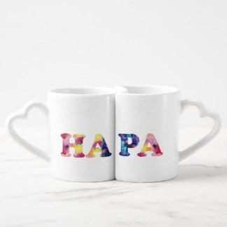 Hapa Nesting Pair of Mugs