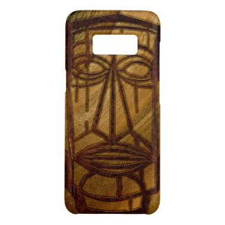 Hapalua Tiki Hawaiian Faux Koa Wood Case-Mate Samsung Galaxy S8 Case