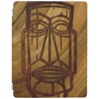 Hapalua Tiki Hawaiian Faux Koa Wood iPadSmartCover iPad Cover