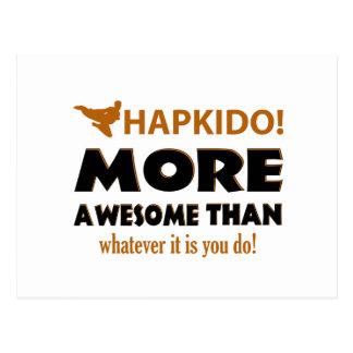 HAPKIDO! DESIGN POSTCARD