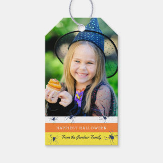 Happiest Halloween Photo Treat Tag Pack Of Gift Tags