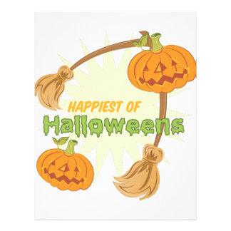 Happiest Halloweens Custom Letterhead