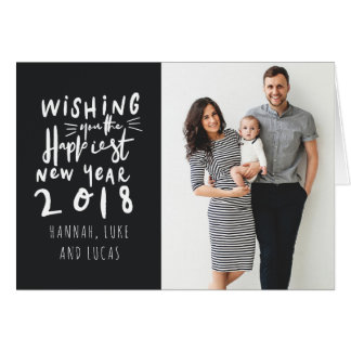 HAPPIEST NEW YEAR CARD