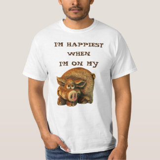 Happiest On My Hog T-Shirt