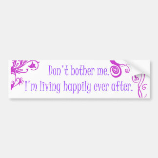 Happily Ever After Bumper Sticker