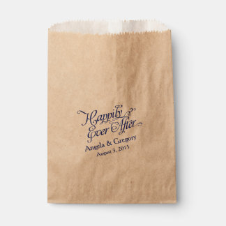 Happily Ever After Candy Dessert Buffet Wedding Favour Bag