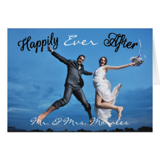 Happily Ever After Photo - Note Card