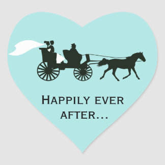 Happily Ever After Wedding Favor Stickers