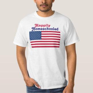 Happily Homeschooled T-shirts