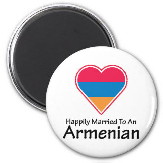 Happily Married Armenian Magnet