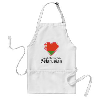 Happily Married Belarusian Standard Apron