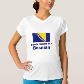 Happily Married Bosnian T-Shirt