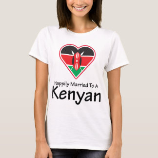 Happily Married Kenyan T-Shirt