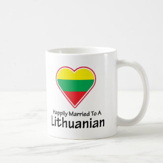 Happily Married Lithuanian Coffee Mug