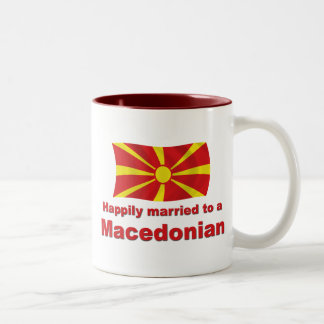 Happily Married Macedonian Two-Tone Coffee Mug