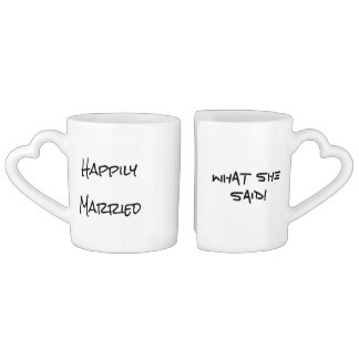 Happily Married Mug Set