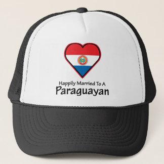Happily Married Paraguayan Trucker Hat