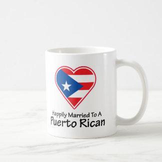 Happily Married Puerto Rican Coffee Mug