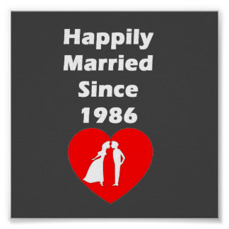 Happily Married Since 1986 Poster