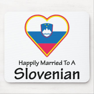 Happily Married Slovenian Mouse Pad