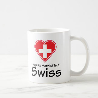 Happily Married Swiss Coffee Mug