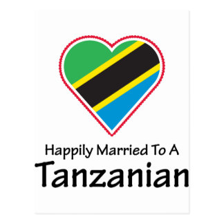 Happily Married Tanzanian Postcard
