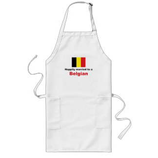 Happily Married To A Belgian Long Apron