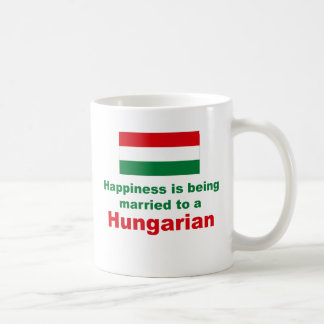 Happily Married To A Hungarian Coffee Mug