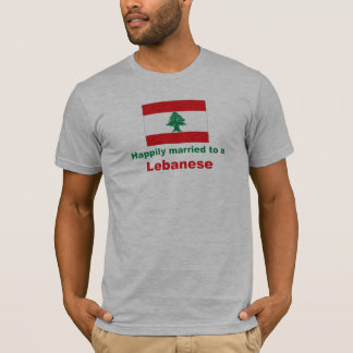 Happily Married To A Lebanese T-Shirt