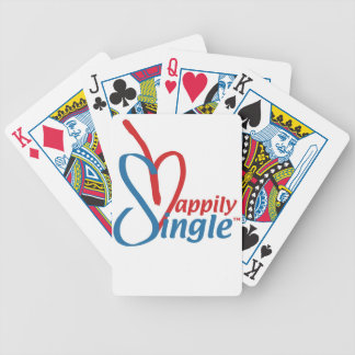 HappilySingle™ Bicycle Playing Cards