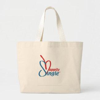 HappilySingle™ Large Tote Bag