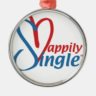 HappilySingle™ Metal Ornament