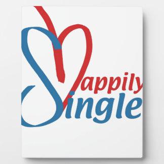 HappilySingle™ Plaque