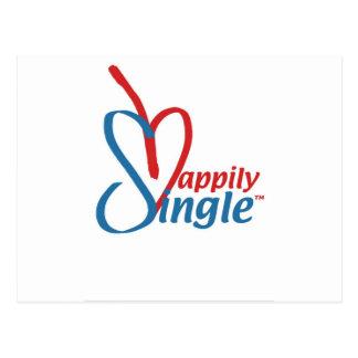 HappilySingle™ Postcard