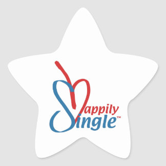 HappilySingle™ Star Sticker