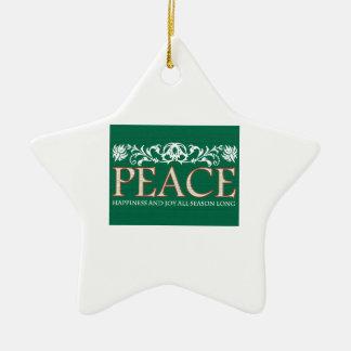 Happines And Joy Christmas Ornament