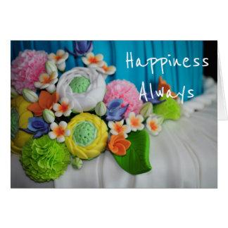 Happiness Always wedding congratulations Card