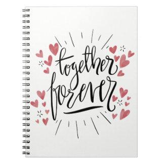 Happiness Attitude Life Success Dreams Goals Spiral Notebook
