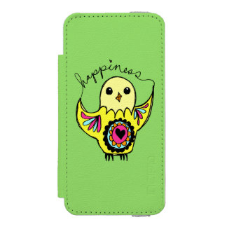 Happiness Bird Incipio Watson™ iPhone 5 Wallet Case