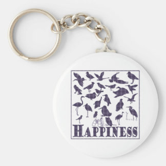 Happiness: Birds Keychain