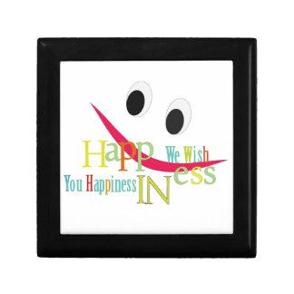happiness design gift box
