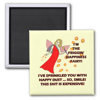 Happiness Fairy T-shirts Gifts Magnets