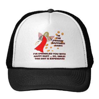 Happiness Fairy T-shirts Gifts Trucker Hats