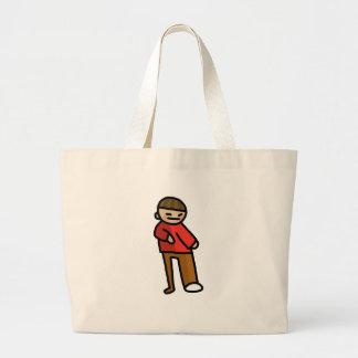 happiness handbag. large tote bag