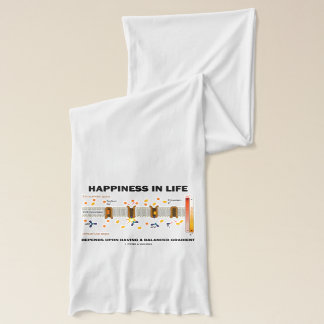 Happiness In Life Depends Upon Balanced Gradient Scarf